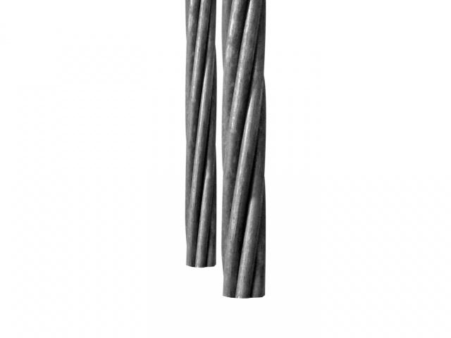 Fili e trefoli zincati per ponti